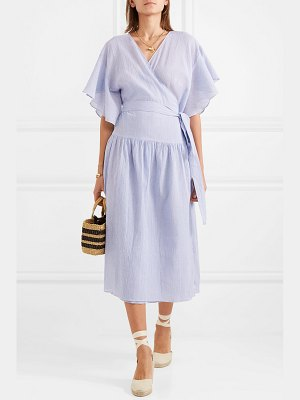 Vanessa Bruno lolita cotton-gauze wrap dress
