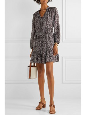 Vanessa Bruno manuela printed gauze mini dress