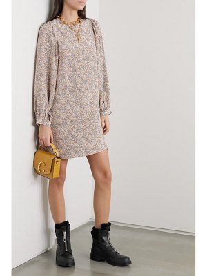 Vanessa Bruno nell floral-print silk crepe de chine mini dress