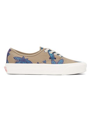 Vans and blue sweet leaf og authentic lx sneakers