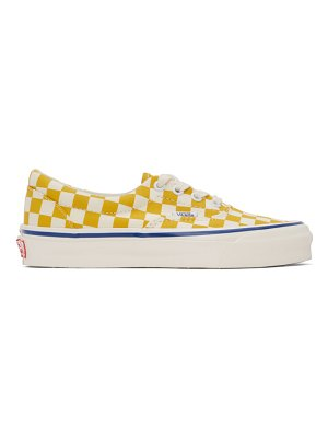 Vans and white checkerboard authentic sneakers