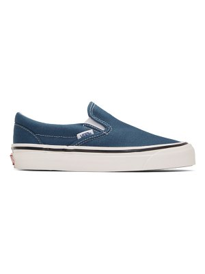 Vans blue classic slip-on 98 dx anaheim factory sneakers