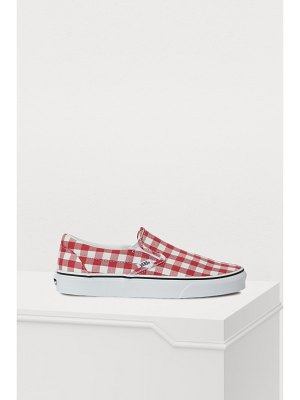 Vans Classic Slip-On gingham sneakers
