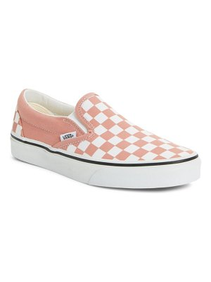 Vans van classic checkerboard slip-on sneaker
