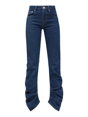VAQUERA scrunch gathered jeans
