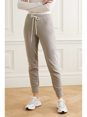 Varley alice cotton-blend jersey track pants