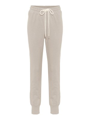 Varley alice cotton-blend trackpants
