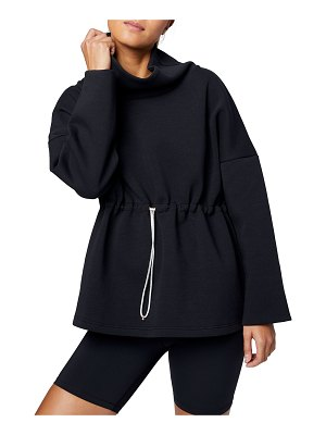 Varley Barton Sweat Funnel Neck Pullover Sweatshirt