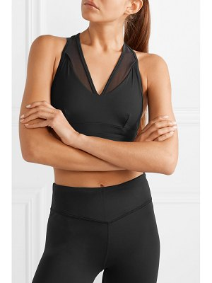 Varley chancery mesh-trimmed stretch sports bra