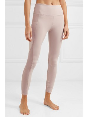 Varley clyde cropped mesh-paneled stretch leggings