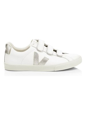 VEJA esplar 3-lock leather low-top sneakers