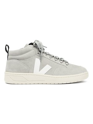 VEJA roraima suede high-top trainers