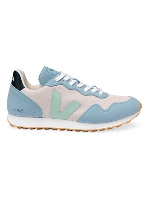 VEJA sdu two-tone patchwork low-top sneakers