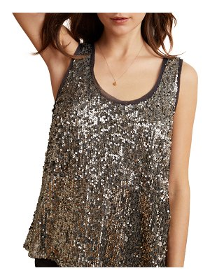 Velvet Leyla Sequin Tank Top