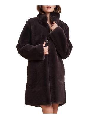 Velvet Mina Faux-Fur Reversible Coat