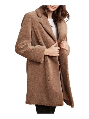 Velvet Trishelle Sherpa Fleece Coat