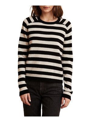 Velvet Zuri Striped Cashmere Sweater