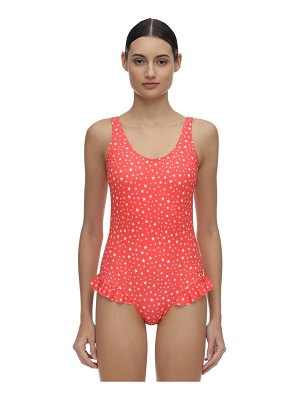 Verdelimon Virginia ruffled one piece swimsuit