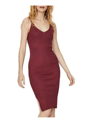 Vero Moda alio sleeveless rib body-con sweater dress