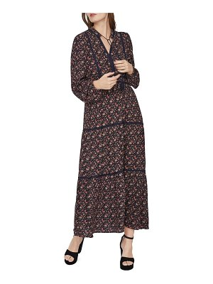 Vero Moda boho long sleeve maxi dress