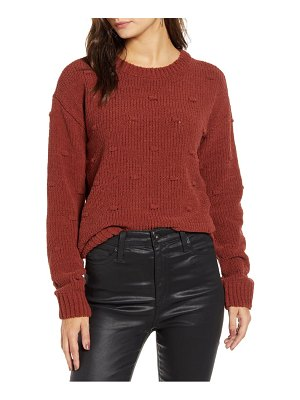 Vero Moda chenille dot knit sweater