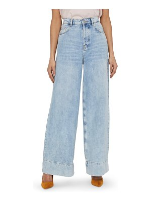 Vero Moda emma super high waist wide leg jeans