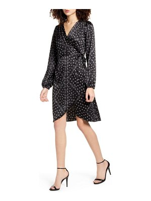 Vero Moda gamma long sleeve wrap dress