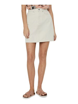 Vero Moda kate denim miniskirt