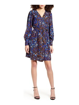 Vero Moda laia long sleeve wrap dress