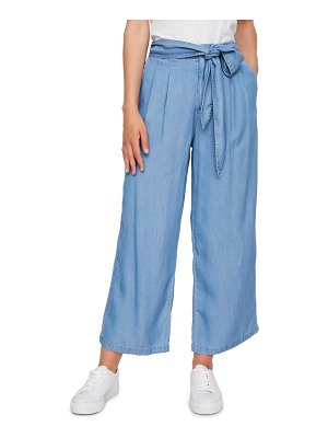 Vero Moda laura high waist belted ankle pants