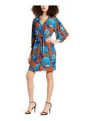 Vero Moda lucia floral shirtdress