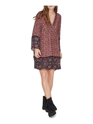 Vero Moda rosey long sleeve shift dress