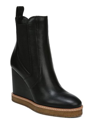 Veronica Beard aari waterproof wedge chelsea boot