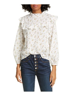 Veronica Beard beth floral top