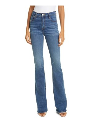 Veronica Beard beverly high waist skinny flare jeans