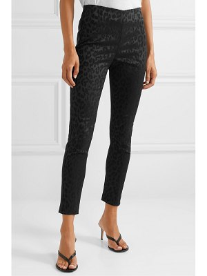 Veronica Beard honolulu satin-jacquard skinny pants