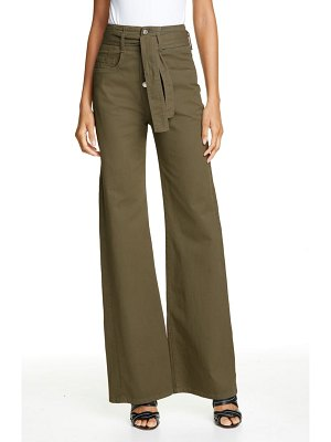 Veronica Beard rosanna high waist wide leg jeans