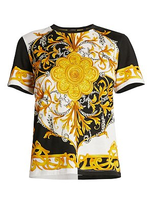 VERSACE barocco acanthus printed t-shirt