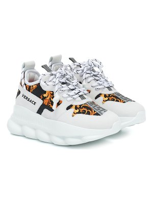 VERSACE chain reaction 2 printed sneakers