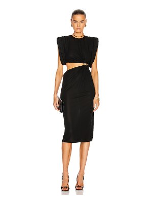 VERSACE cocktail cutout gown