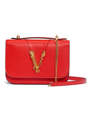 VERSACE FIRST LINE v leather top handle bag