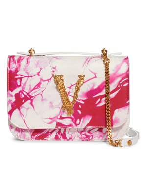 VERSACE FIRST LINE verace first line virtus tie dye leather crossbody bag