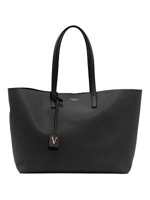 VERSACE FIRST LINE versace virtus leather tote