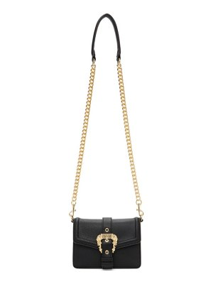VERSACE JEANS COUTURE black buckle bag