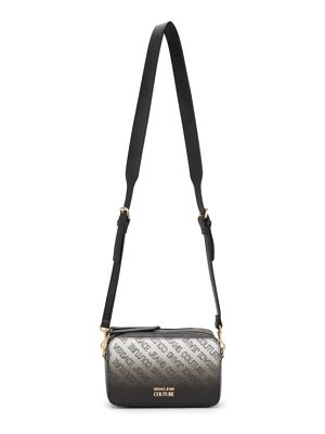 VERSACE JEANS COUTURE black institutional logo camera bag
