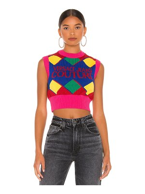 VERSACE JEANS COUTURE knit top