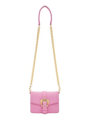 VERSACE JEANS COUTURE pink buckle bag