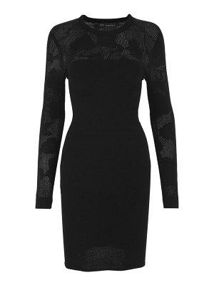 VERSACE tattoo knit bodycon dress