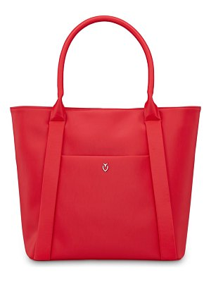 Vessel signature 2.0 faux leather medium tote