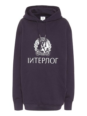 VETEMENTS cotton hoodie